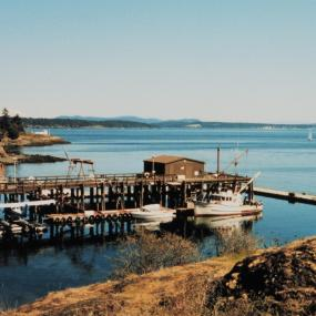 Friday Harbor, San Juan Island. Photo courtesy of NOAA and the Pacific Tides Party.
