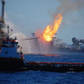 Deepwater Horizon oil spill, 2010. Photo courtesy of NOAA.