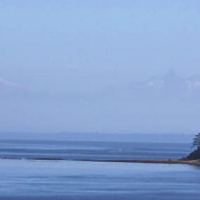 A view from the San Juan Islands. Photo: Bureau of Land Management