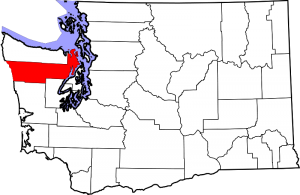Location of Jefferson County in Washington State