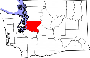 Location of King County in Washington State