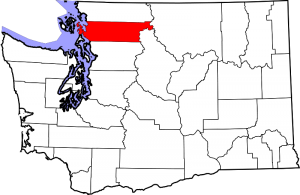 Location of Skagit County in Washington State