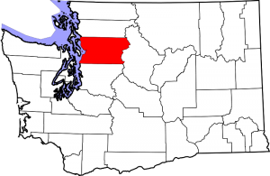 Location of Snohomish County in Washington State