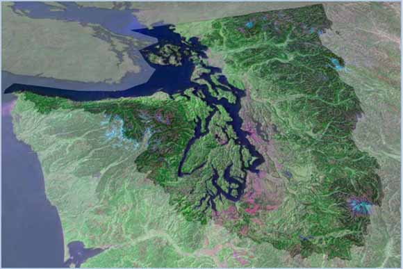 Puget Sound S Physical Environment Encyclopedia Of Puget